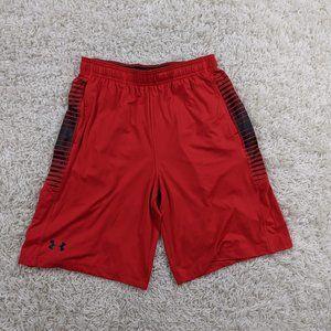 Under Armour Athletic Shorts Men Medium Red A21